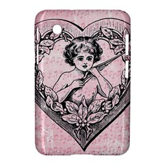 Heart Drawing Angel Vintage Samsung Galaxy Tab 2 (7 ) P3100 Hardshell Case