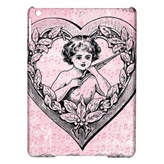 Heart Drawing Angel Vintage iPad Air Hardshell Cases