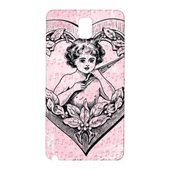 Heart Drawing Angel Vintage Samsung Galaxy Note 3 N9005 Hardshell Back Case