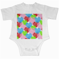 Holidays Occasions Valentine Infant Creepers
