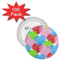 Holidays Occasions Valentine 1.75  Buttons (100 pack)