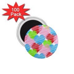 Holidays Occasions Valentine 1.75  Magnets (100 pack)