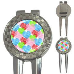 Holidays Occasions Valentine 3-in-1 Golf Divots