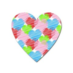 Holidays Occasions Valentine Heart Magnet
