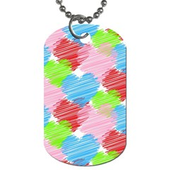 Holidays Occasions Valentine Dog Tag (One Side)