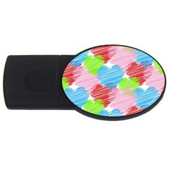 Holidays Occasions Valentine USB Flash Drive Oval (2 GB)