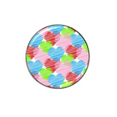 Holidays Occasions Valentine Hat Clip Ball Marker (10 pack)