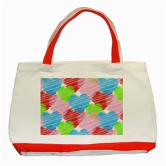 Holidays Occasions Valentine Classic Tote Bag (Red)