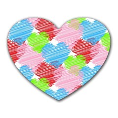 Holidays Occasions Valentine Heart Mousepads