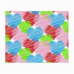 Holidays Occasions Valentine Small Glasses Cloth (2-Side)