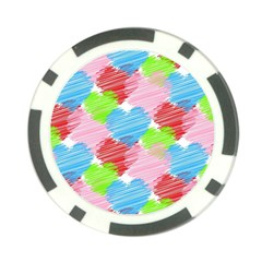 Holidays Occasions Valentine Poker Chip Card Guards (10 pack)
