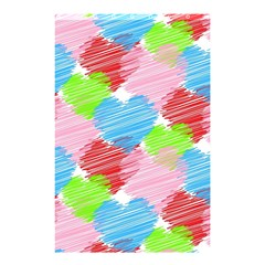 Holidays Occasions Valentine Shower Curtain 48  x 72  (Small)