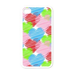 Holidays Occasions Valentine Apple iPhone 4 Case (White)