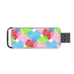 Holidays Occasions Valentine Portable USB Flash (Two Sides)