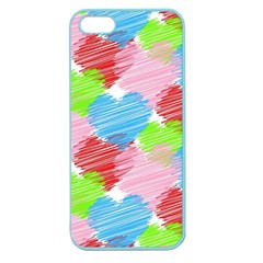 Holidays Occasions Valentine Apple Seamless iPhone 5 Case (Color)