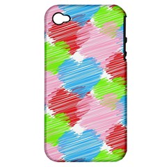 Holidays Occasions Valentine Apple iPhone 4/4S Hardshell Case (PC+Silicone)