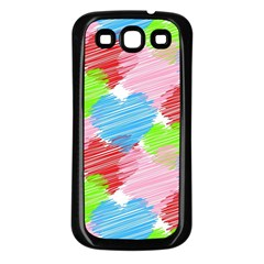 Holidays Occasions Valentine Samsung Galaxy S3 Back Case (Black)