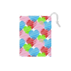 Holidays Occasions Valentine Drawstring Pouches (Small)