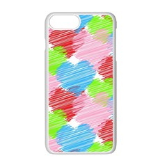 Holidays Occasions Valentine Apple iPhone 7 Plus White Seamless Case