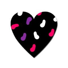 Pattern Tileable Seamless Background Heart Magnet