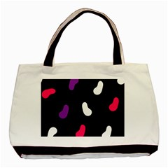 Pattern Tileable Seamless Background Basic Tote Bag (Two Sides)