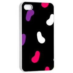 Pattern Tileable Seamless Background Apple iPhone 4/4s Seamless Case (White)