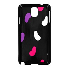 Pattern Tileable Seamless Background Samsung Galaxy Note 3 Neo Hardshell Case (Black)