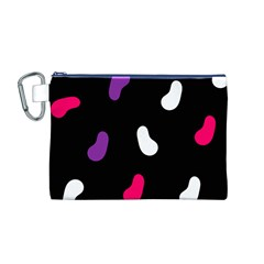 Pattern Tileable Seamless Background Canvas Cosmetic Bag (M)
