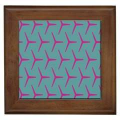 Pattern Background Structure Pink Framed Tiles