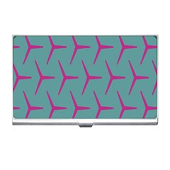 Pattern Background Structure Pink Business Card Holders