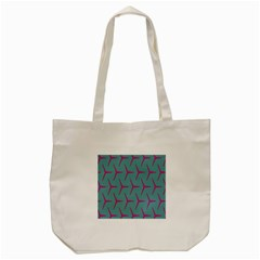 Pattern Background Structure Pink Tote Bag (Cream)