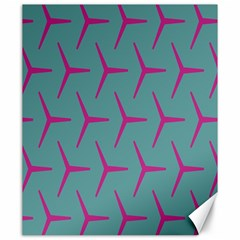 Pattern Background Structure Pink Canvas 20  x 24