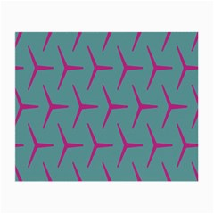 Pattern Background Structure Pink Small Glasses Cloth (2-Side)