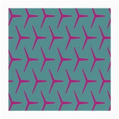 Pattern Background Structure Pink Medium Glasses Cloth (2-Side)
