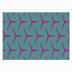 Pattern Background Structure Pink Large Glasses Cloth (2-Side)