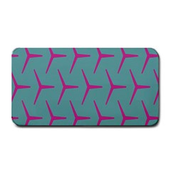 Pattern Background Structure Pink Medium Bar Mats