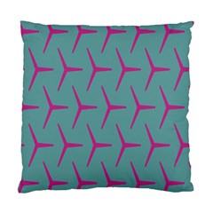 Pattern Background Structure Pink Standard Cushion Case (One Side)