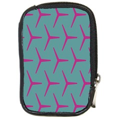 Pattern Background Structure Pink Compact Camera Cases