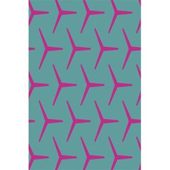 Pattern Background Structure Pink 5.5  x 8.5  Notebooks