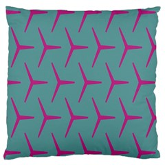 Pattern Background Structure Pink Large Cushion Case (Two Sides)
