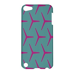 Pattern Background Structure Pink Apple iPod Touch 5 Hardshell Case