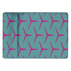 Pattern Background Structure Pink Samsung Galaxy Tab 10.1  P7500 Flip Case
