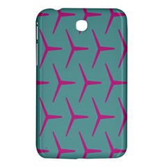 Pattern Background Structure Pink Samsung Galaxy Tab 3 (7 ) P3200 Hardshell Case