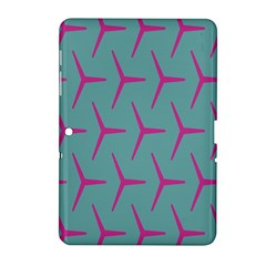 Pattern Background Structure Pink Samsung Galaxy Tab 2 (10.1 ) P5100 Hardshell Case