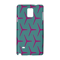 Pattern Background Structure Pink Samsung Galaxy Note 4 Hardshell Case