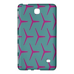 Pattern Background Structure Pink Samsung Galaxy Tab 4 (8 ) Hardshell Case