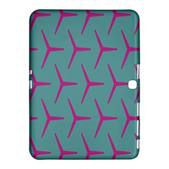Pattern Background Structure Pink Samsung Galaxy Tab 4 (10.1 ) Hardshell Case