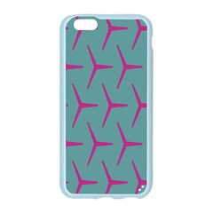 Pattern Background Structure Pink Apple Seamless iPhone 6/6S Case (Color)