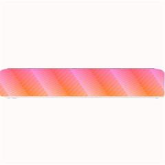 Pattern Background Pink Orange Small Bar Mats