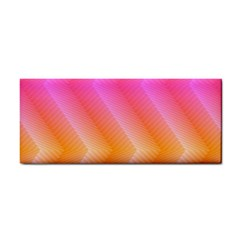 Pattern Background Pink Orange Cosmetic Storage Cases